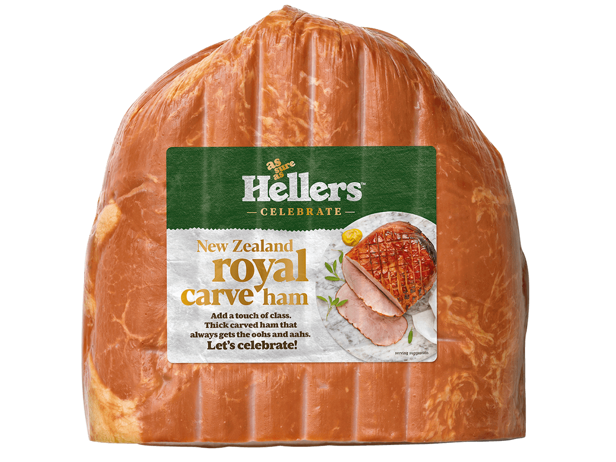Hellers New Zealand Royal carve ham